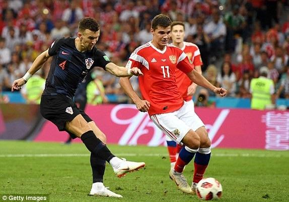 """Nga 2-2 Croatia (penalty 3-4): Tiếc nuối cho """"Gấu Nga"""" - 12"""