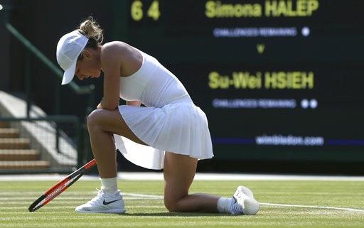 Hạt giống số 1 Halep đã phải rời Wimbledon
