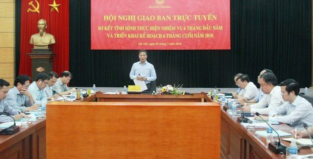 Bộ trưởng Bộ Công Thương Trần Tuấn Anh phát biểu tại hội nghị.
