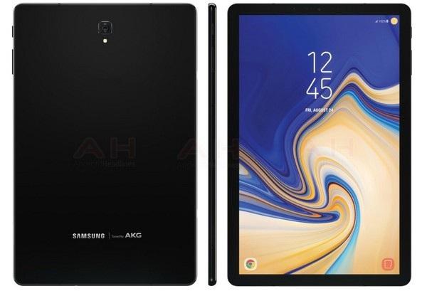Ảnh chính thức của Galaxy Tab S4 vừa bị rò rỉ cho thấy sản phẩm có sự thay đổi ở thiết kế mặt trước
