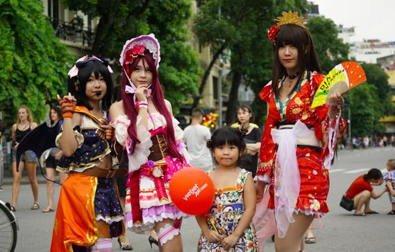 Rộn ràng lễ hội Nhật Bản tại Hà Nội và Osaka - 2