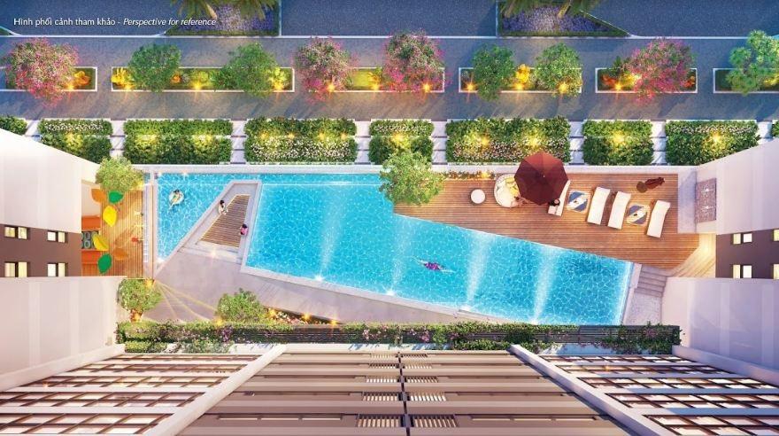 """Dự án chung cư đầu tiên xây hồ bơi """"siêu sang"""" dành riêng cho cư dân - 2"""
