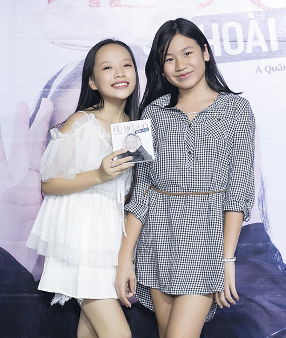 Bé Mimi, con gái nhạc sĩ Lưu Thiên Hương