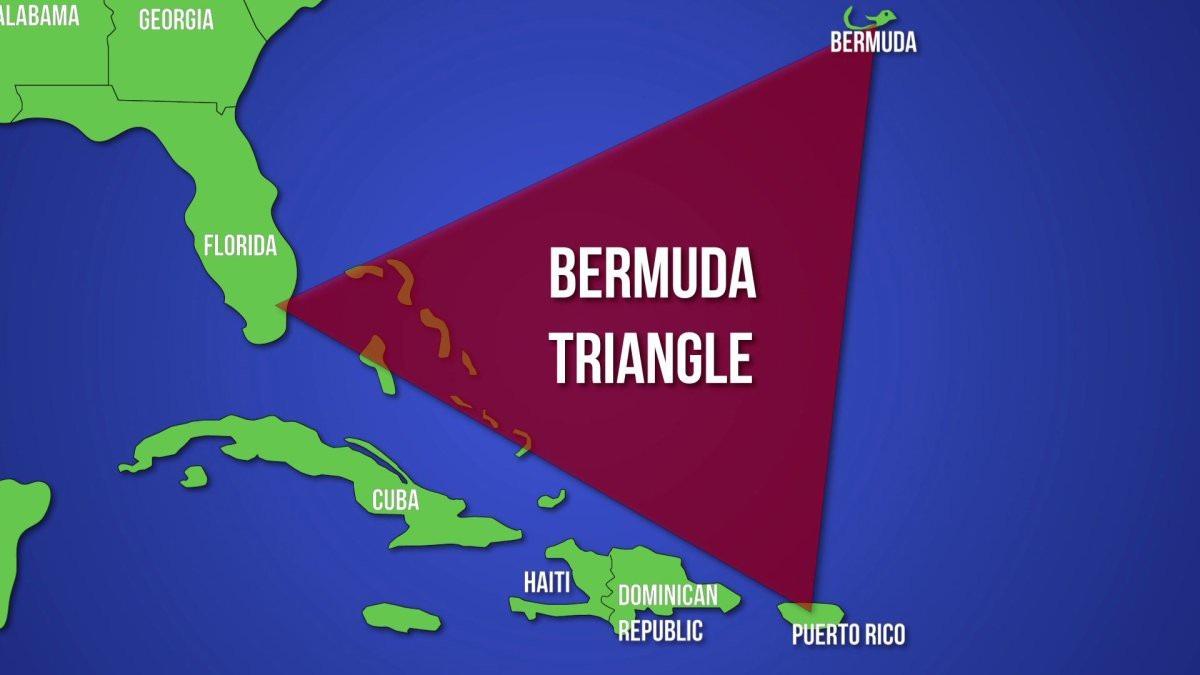 Tam giác quỷ Bermuda (Ảnh: IOL)