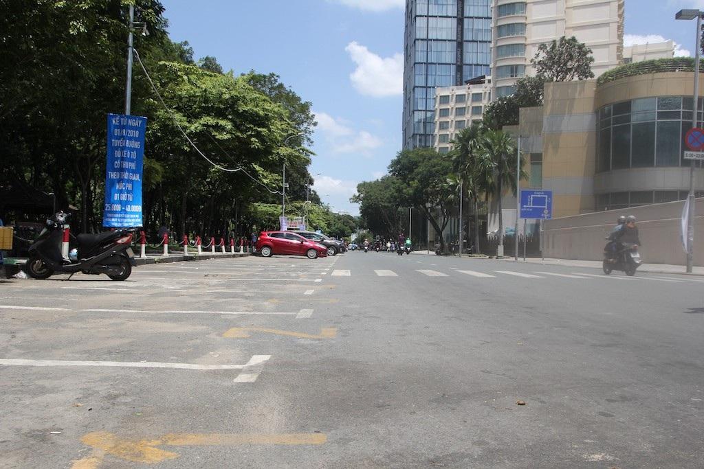 Đường Lê Lai thông thoáng khi nơi đây không còn là địa chỉ vàng gửi xe