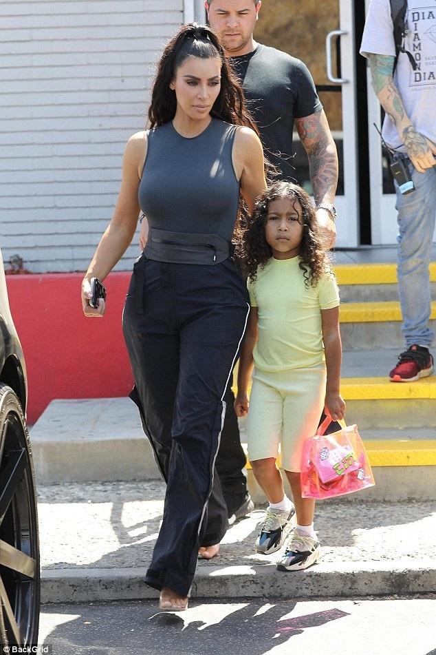 Kim và con gái North
