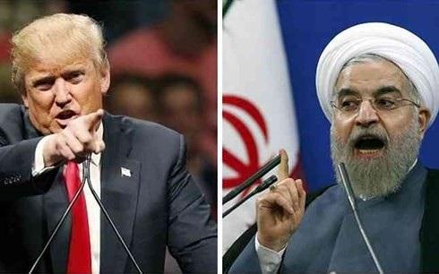 Tổng thống Mỹ Trump và Tổng thống Iran Rouhani. Ảnh: Catch News.