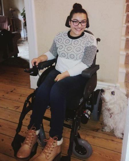 Hội chứng mệt mỏi kinh niên khiến Sype phải sử dụng xe lăn