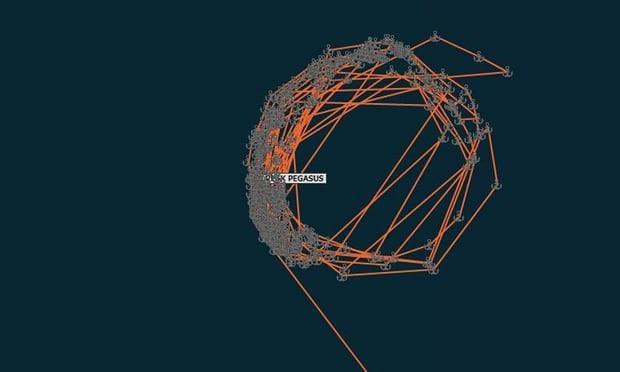 Tàu hàng Peak Pegasus lòng vòng hơn 1 tháng ngoài khơi Trung Quốc. (Ảnh: Reuters)