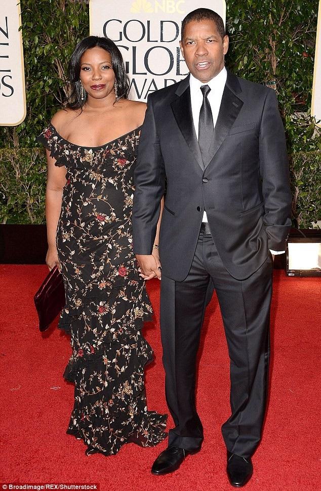 Tài tử Denzel Washington (63 tuổi) và con gái Olivia (27 tuổi).