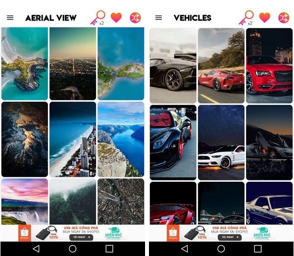 Ứng dụng mang bộ sưu tập hình nền chất lượng cao tuyệt đẹp lên smartphone - 1