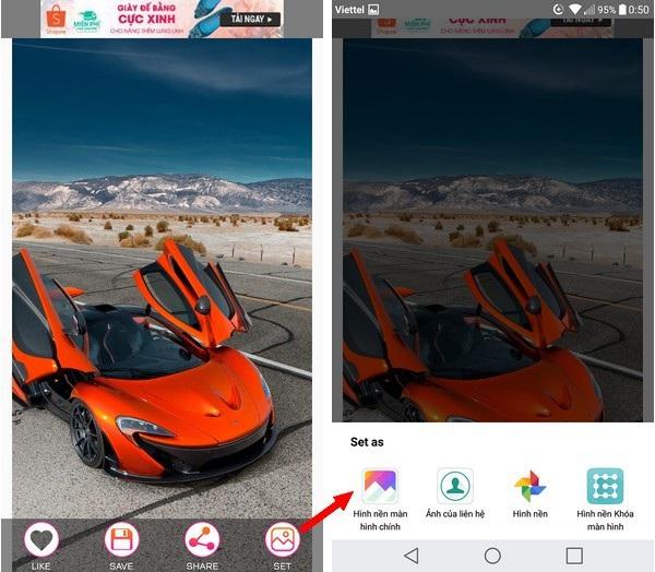 Ứng dụng mang bộ sưu tập hình nền chất lượng cao tuyệt đẹp lên smartphone - 2