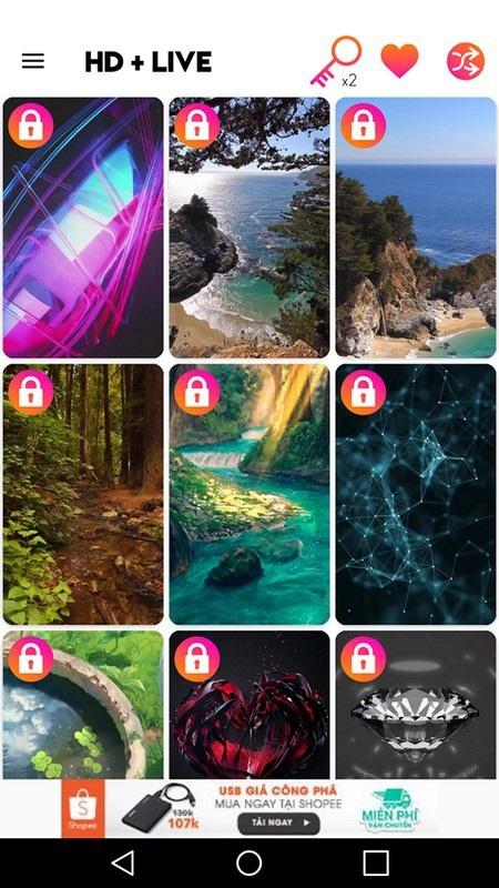 Ứng dụng mang bộ sưu tập hình nền chất lượng cao tuyệt đẹp lên smartphone - 3