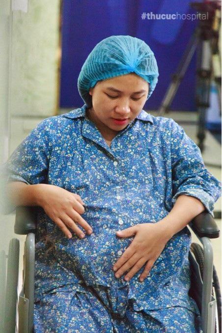 Lần mang thai và sinh nở đầu tiên gây cho mình rất nhiều áp lực, lo lắng