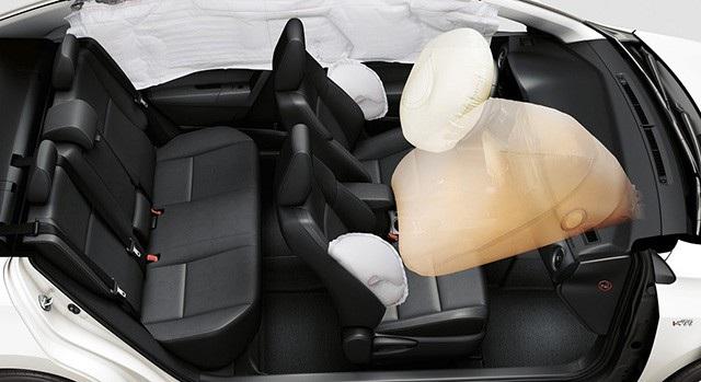 Hệ thống túi khí trên Toyota Altis cũng đã gặp vấn đề liên quan đến hệ thống điều khiển.