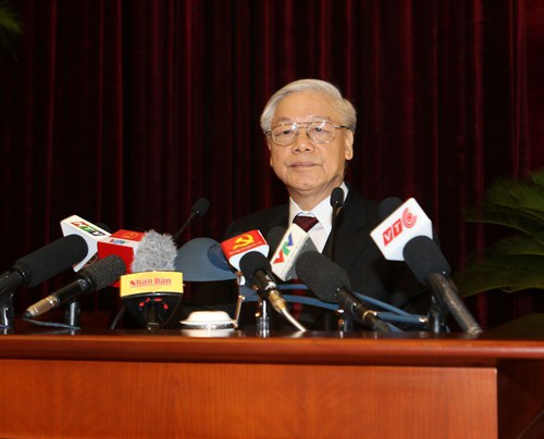 Tổng Bí thư Nguyễn Phú Trọng sẽ tham dự phiên khai mạc Hội nghị Ngoại giao 30 sáng 13/8 (TTXVN)