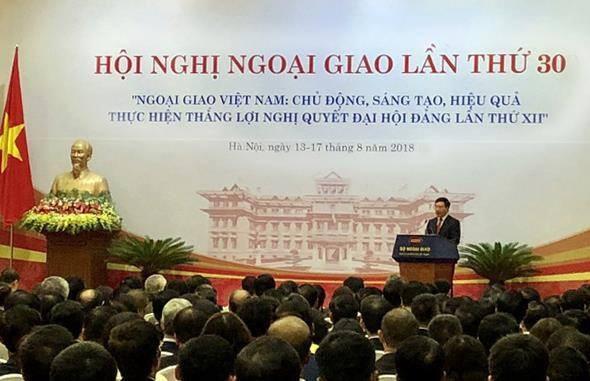 Phó Thủ tướng Phạm Bình Minh phát biểu tại HNNG 30