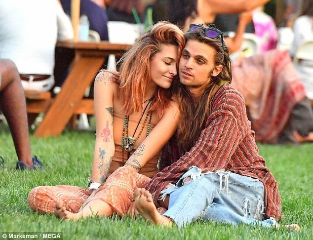 Paris Jackson và Gabriel Glenn trông rất đẹp đôi