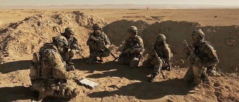Đặc nhiệm Nga tại Syria.