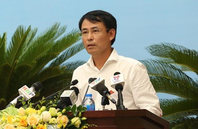 Giám đốc Sở TNMT Nguyễn Trọng Đông