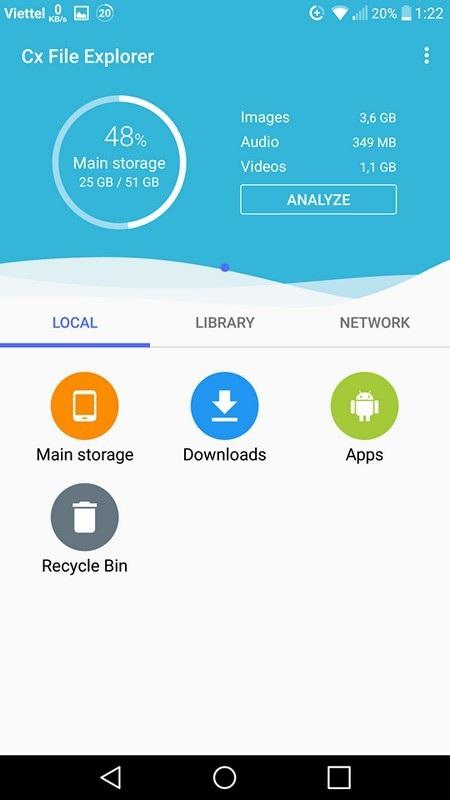 Ứng dụng quản lý dữ liệu và chuyển file từ smartphone lên máy tính không cần dây cáp - 1