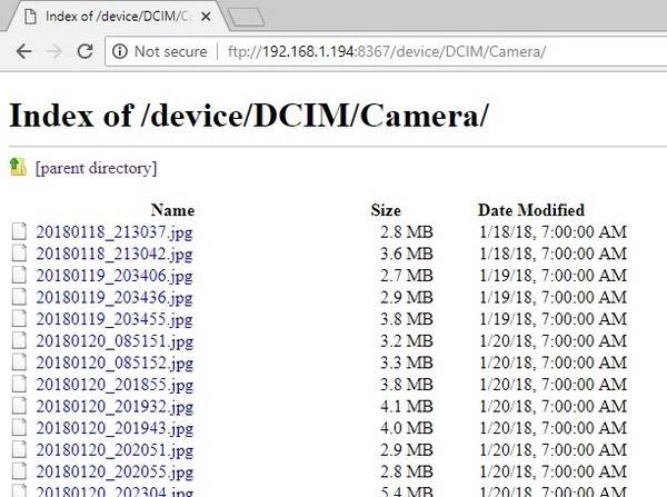 Ứng dụng quản lý dữ liệu và chuyển file từ smartphone lên máy tính không cần dây cáp - 9