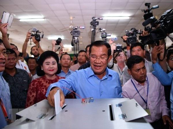Thủ tướng Campuchia Hun Sen (Ảnh: Reuters)