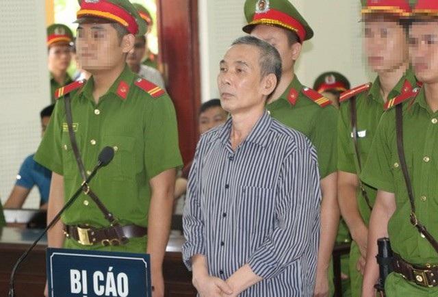 Bị cáo Lê Đình Lượng tại phiên tòa (ảnh H.B)