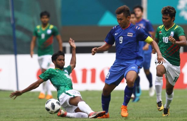 Thái Lan có trận hoà hú vía trước Bangladesh