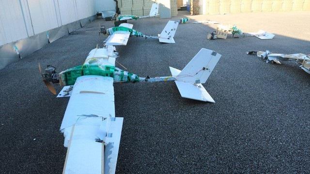 Máy bay không người lái thu được trong một vụ tấn công căn cứ quân sự Nga ở Syria hồi đầu năm (Ảnh minh họa: Sputnik)