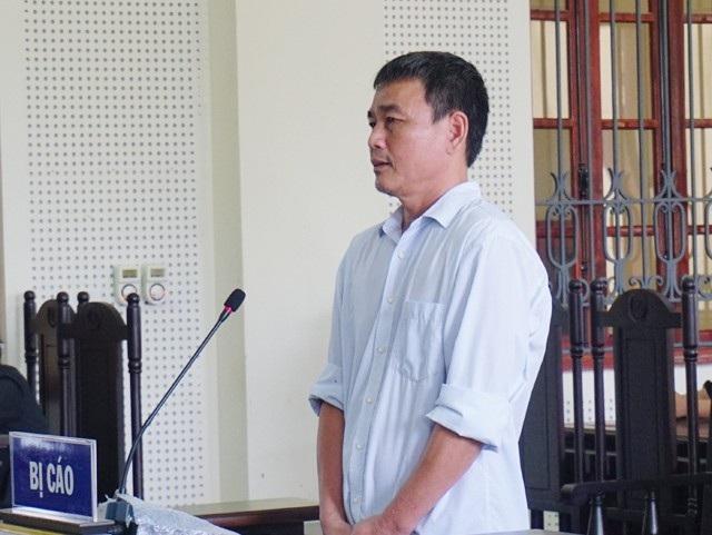 Bị cáo Nguyễn Bá Định tại phiên tòa