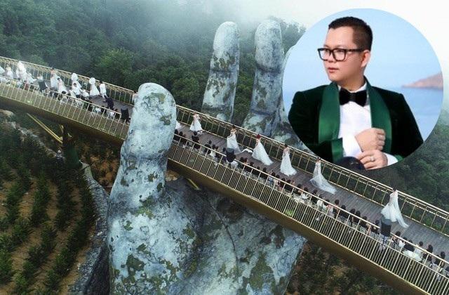 """Long Kan và ekip đã thực hiện show diễn thời trang """"Dạo bước trên mây"""" trên độ cao 1.414m so với mực nước biển."""