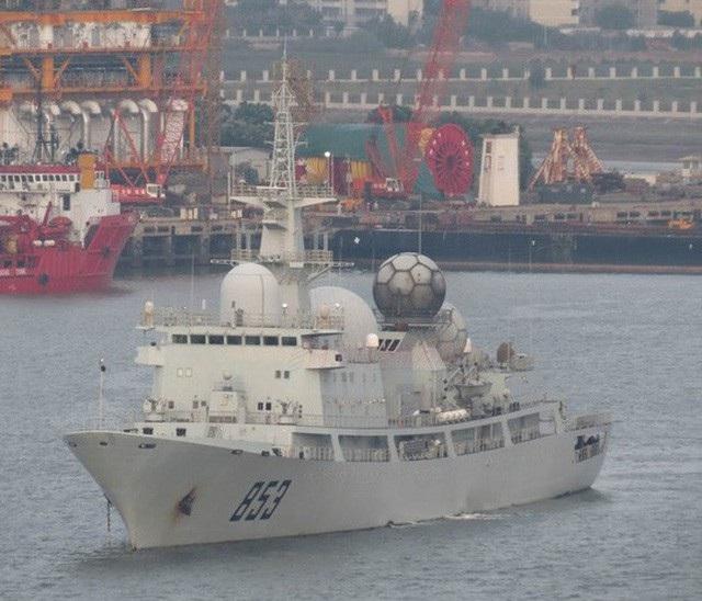Một tàu do thám lớp Dongdiao của Trung Quốc. (Ảnh minh họa: USNI News)