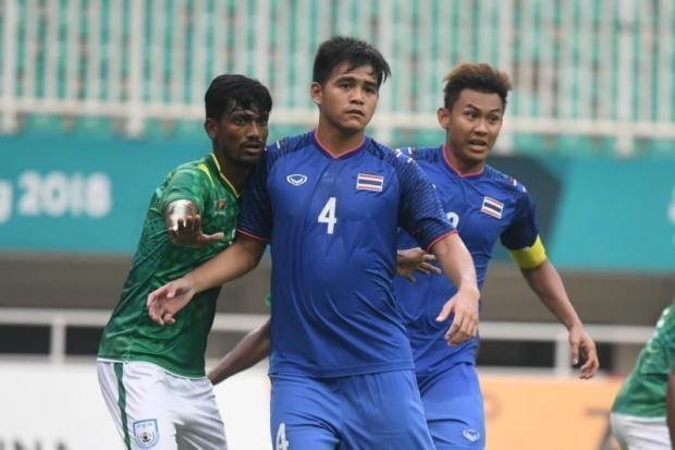 Olympic Thái Lan là đội gây thất vọng nhất tại Asiad 2018, trong số các đội thuộc nhóm đầu Đông Nam Á