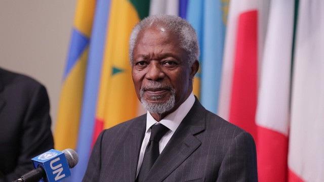 Nguyên Tổng thư ký Liên hợp quốc Kofi Annan qua đời ngày 18/8 (Ảnh: Global Look Press)
