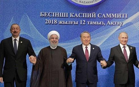 Nga, Thổ Nhĩ Kỳ và Iran, ba thành viên trong Cơ chế Sochi đang nỗ lực liên kết với các quốc gia khác chống lại cuộc chiến thương mại với Mỹ. Ảnh: Guardian.