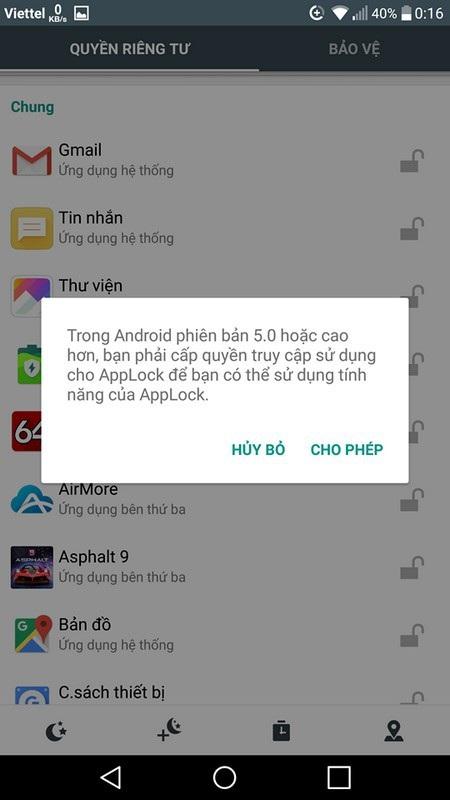 Thủ thuật giúp bảo vệ tin nhắn, email, hình ảnh riêng tư.... trên smartphone - 3