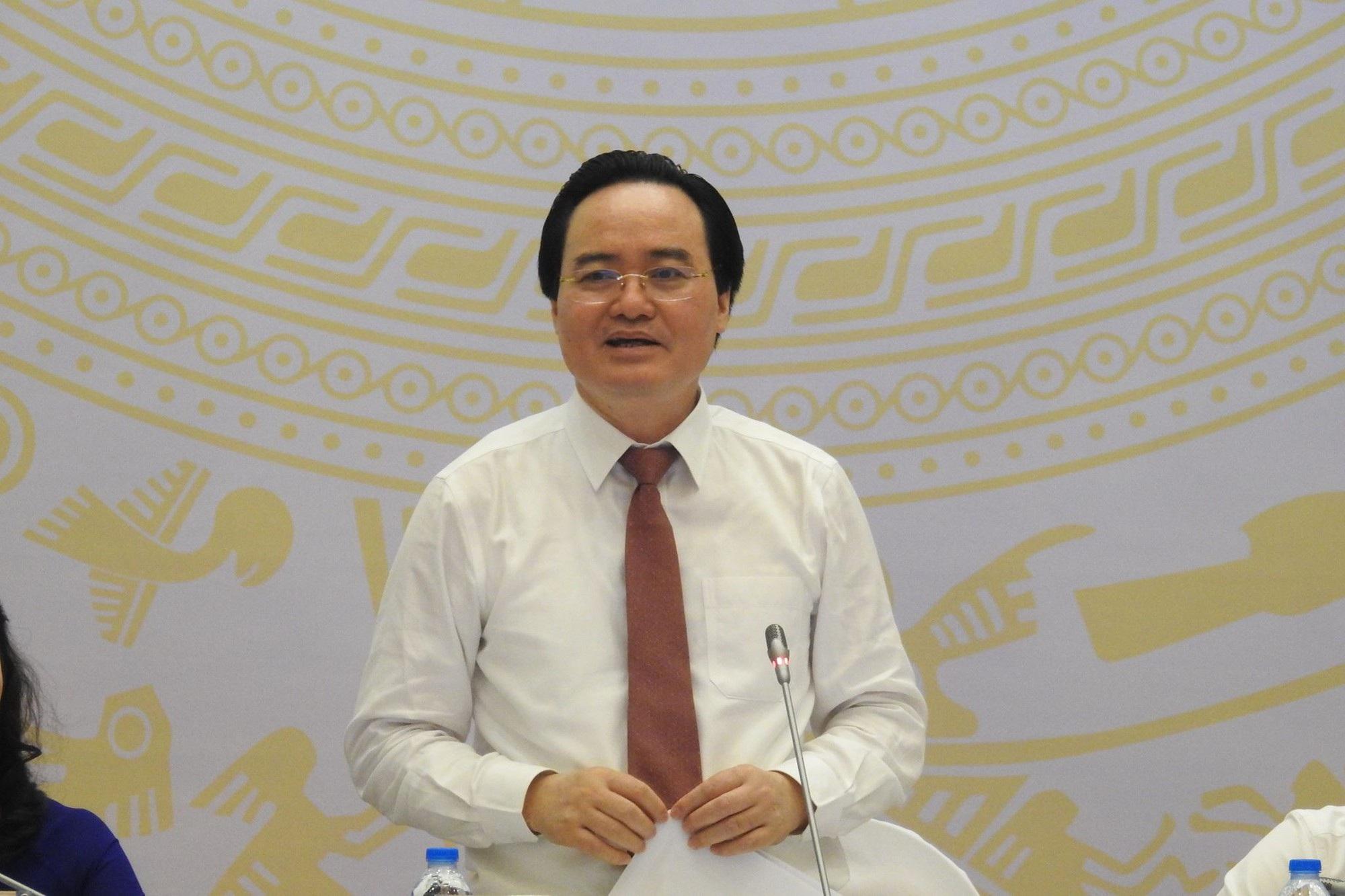 Bộ trưởng Phùng Xuân Nhạ tại Hội nghị. (Ảnh: Đ.Q).