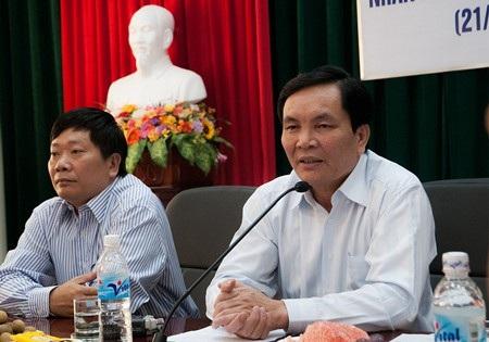 Cấn Văn Nghĩa – Giám đốc Khu Liên hợp thể thao quốc gia Mỹ Đình rút lui khỏi cuộc đua Chủ tịch VFF khóa VIII