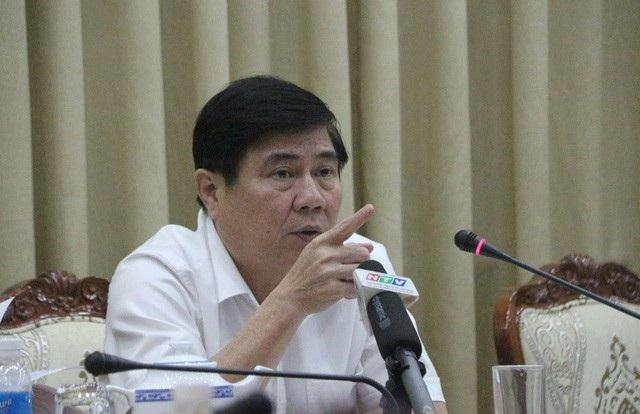 Chủ tịch UBND TPHCM Nguyễn Thành Phong cho biết sẽ báo cáo Ban Thường vụ Thành ủy cán bộ không hoàn thành nhiệm vụ, đề nghị chuyển đổi công việc