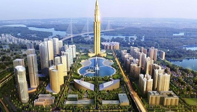 Dự án thành phố thông minh tại Hà Nội có tổng mức vốn đầu tư dự kiến hơn 4,1 tỷ USD.