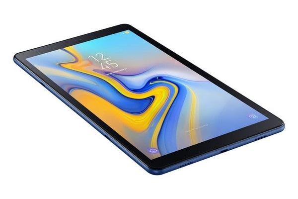 Galaxy Tab A 10.5 cũng mang phong cách thiết kế hiện đại hơn với viền màn hình mỏng