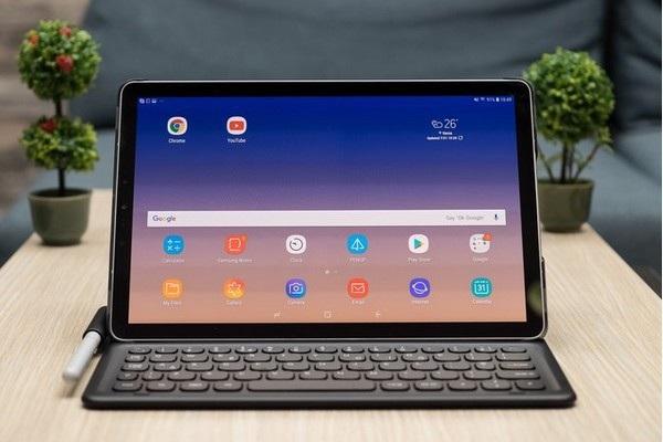 Galaxy Tab S4 với thiết kế viền màn hình mỏng hơn, hiện đại hơn