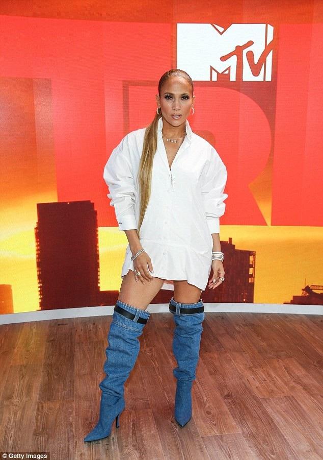 Jennifer Lopez đang bận rộn làm việc với kênh MTV vài ngày trở lại đây