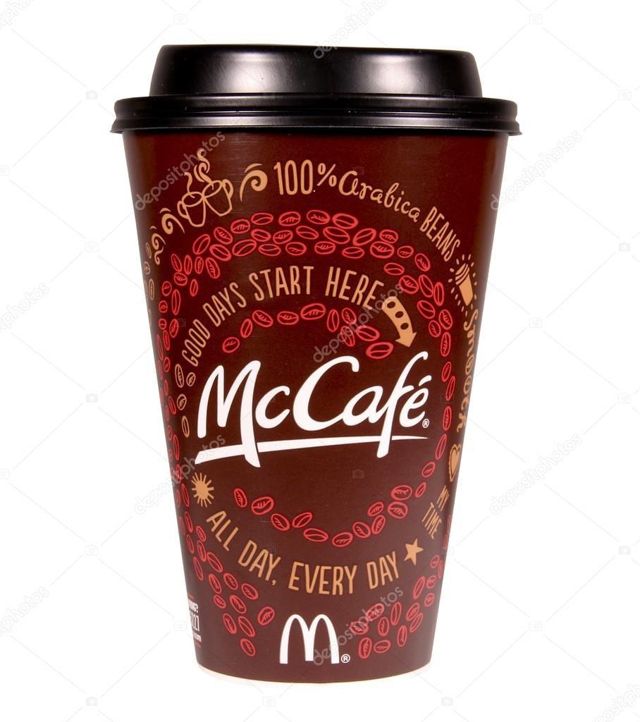 Loại cà phê của McDonalds mà cô Douglas đã mua. (Nguồn: pl.depositphotos.com)