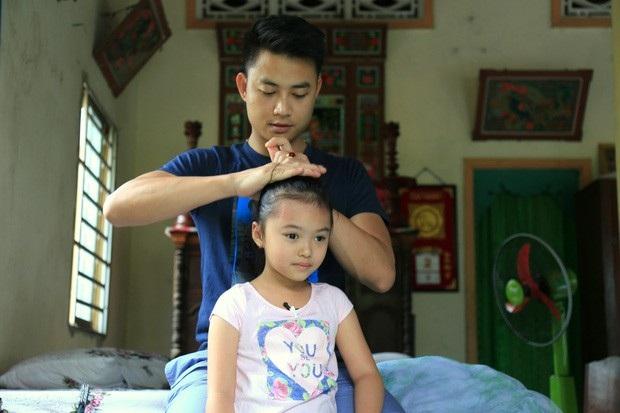 Tiến Lộc và con gái từng đồng hành tham gia Bố ơi! Mình đi đâu thế.