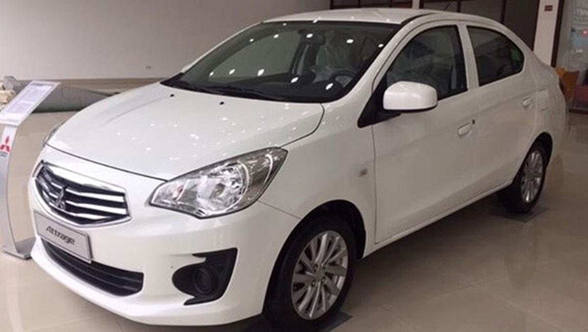 Mẫu xe cỡ nhỏ Mitsubishi Attrage được giảm giá từ 20-30 triệu đồng.