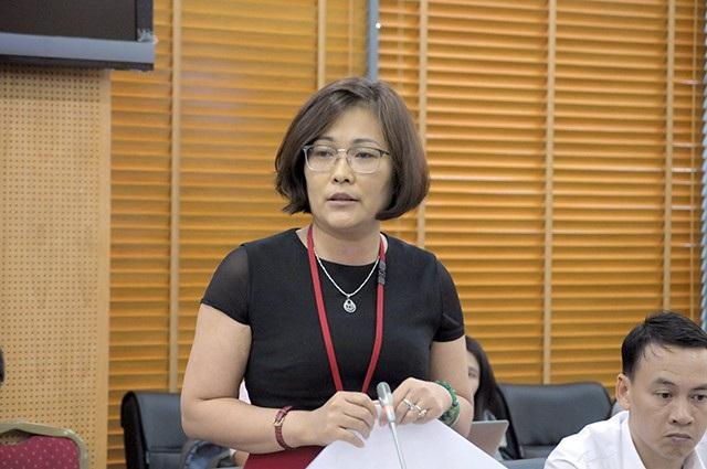 Bà Đào Thị Hồng Minh, Vụ phó Vụ Tổ chức biên chế