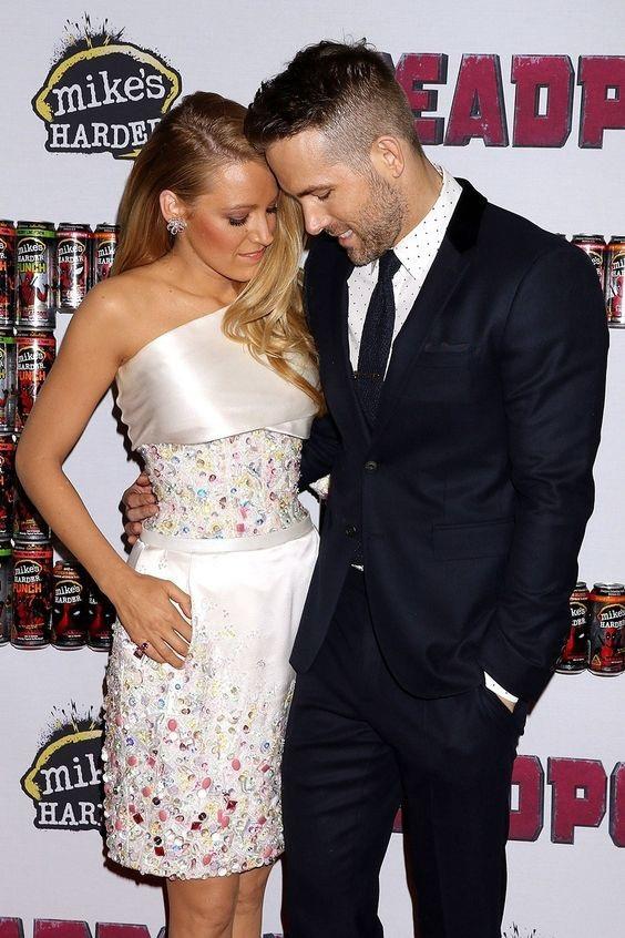 Vợ chồng nữ diễn viên Blake Lively và nam diễn viên Ryan Reynolds