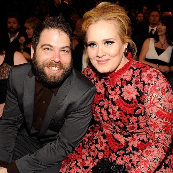 Nữ danh ca Adele và bạn trai Simon Konecki